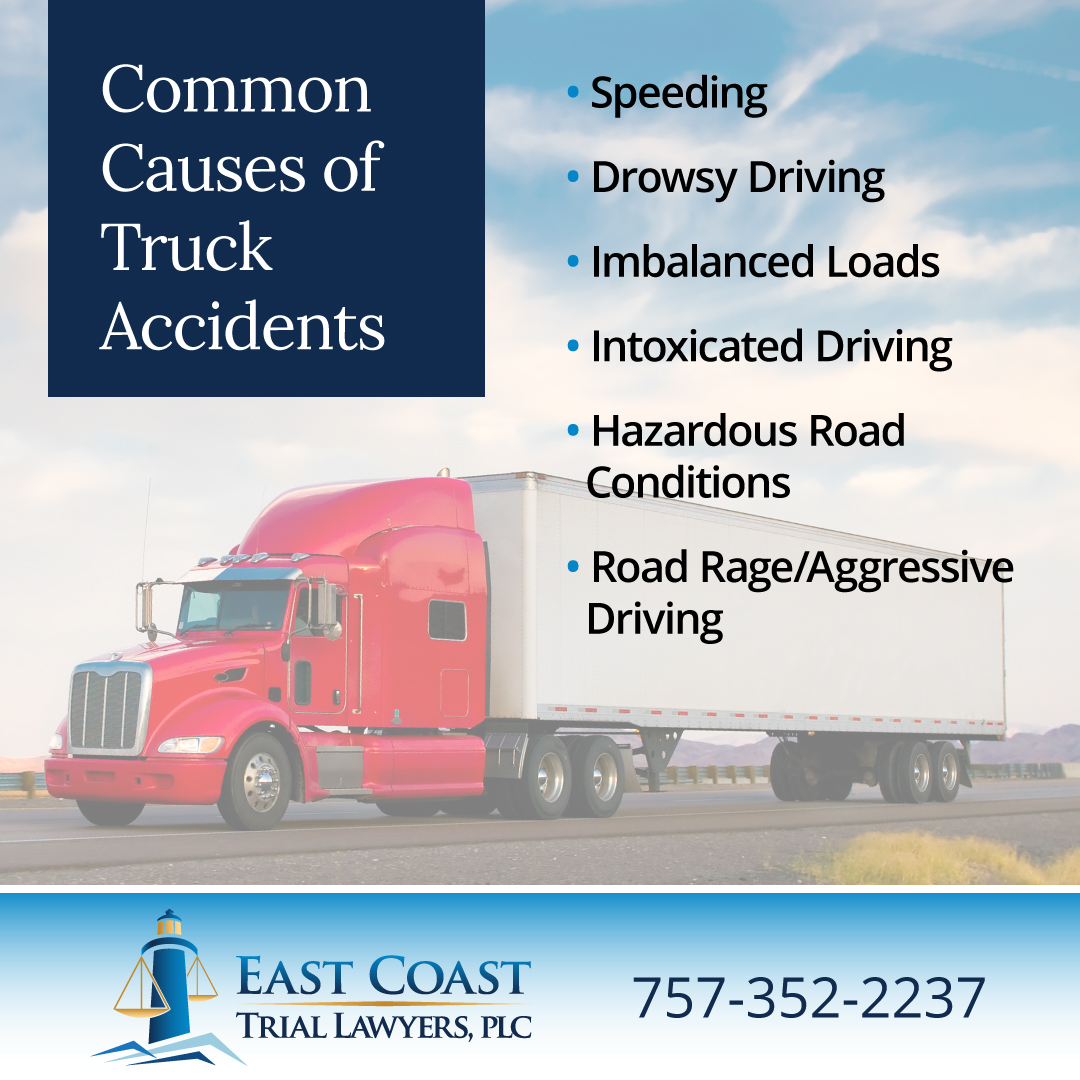 Virginia Beach Truck Accident Lawyers secure full compensation for injured victims of truck accidents.